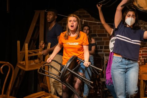 """Student-directed musical """"Our New Town"""" tackles gun violence on and off the stage"""