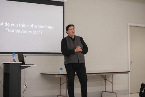 Media educator Ernest M. Whiteman III speaks about Native American media representation